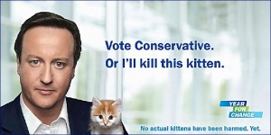 Cameron kill kitten