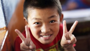 tibetský-chlapec
